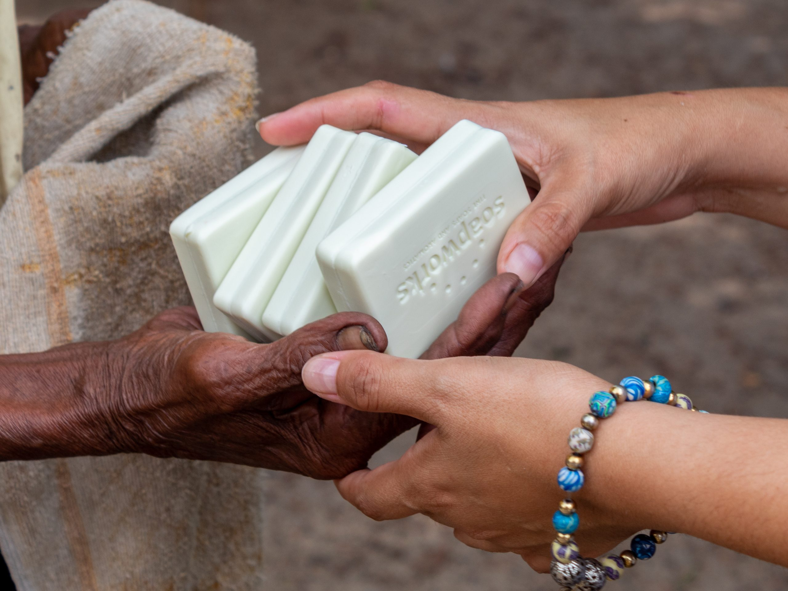 sustainable palm oil-based soap