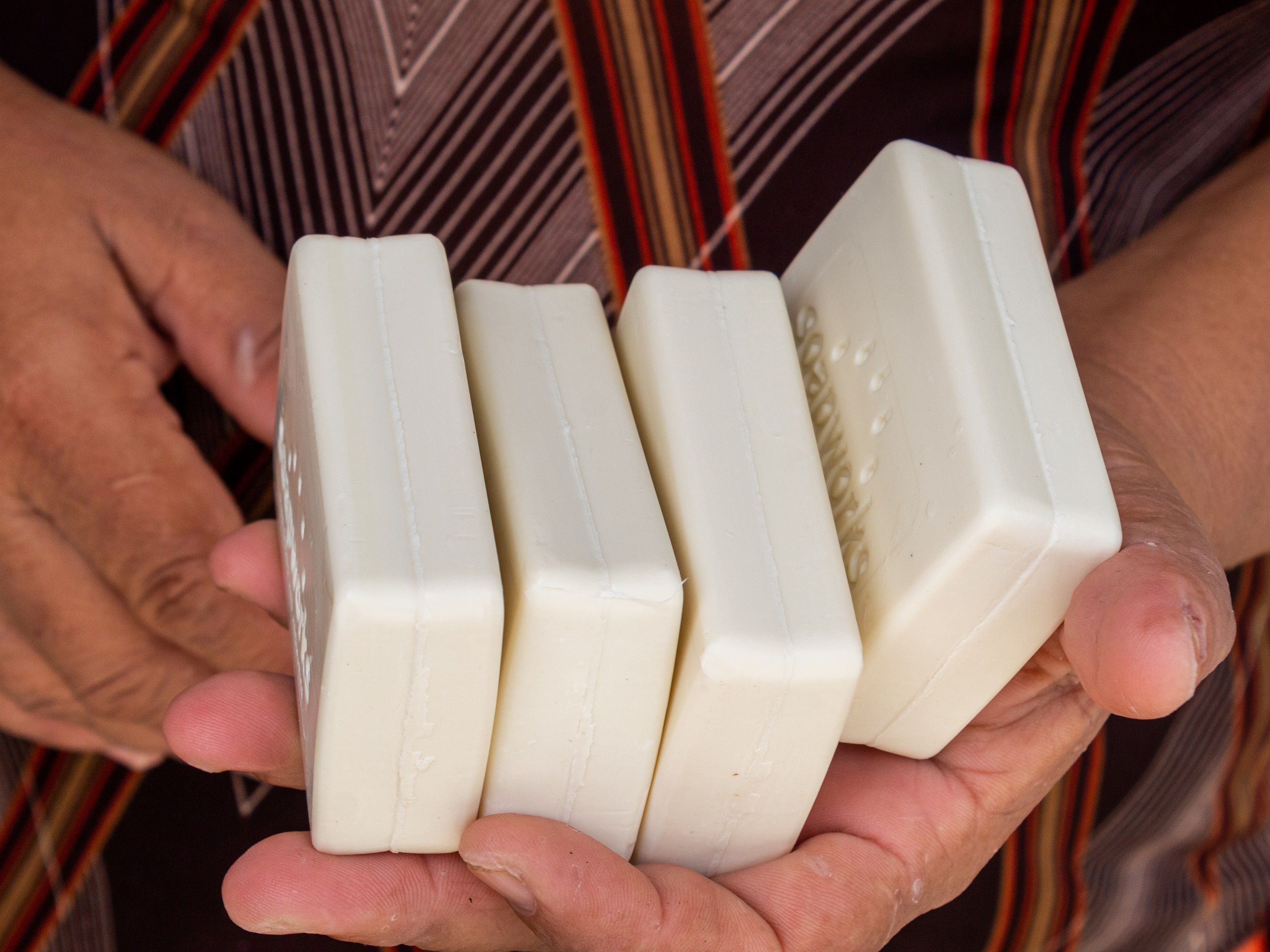 sustainable palm oil based soap