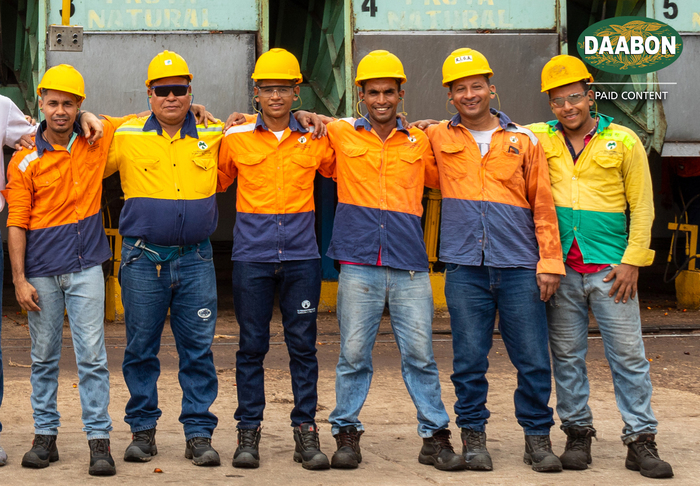 Sustainable palm oil workers